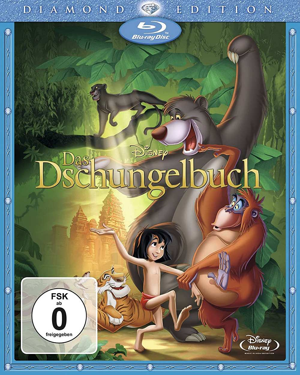 Watch The Jungle Book 1967 full movie online or