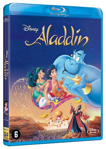 Aladdin dvd release date