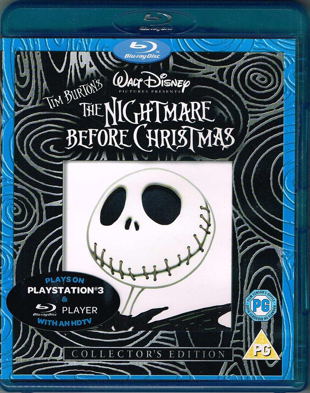 The Nightmare Before Christmas - 8717418177096 - Disney Blu-ray ...