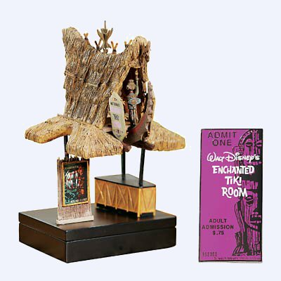 Enchanted Tiki Room Ticket Booth Trinket Box