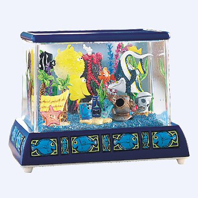 Finding nemo fish tank snowglobes disney collectibles for Nemo fish tank