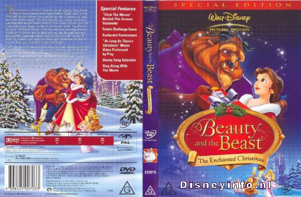 Beauty And The Beast: The Enchanted Christmas - Special Edition ...