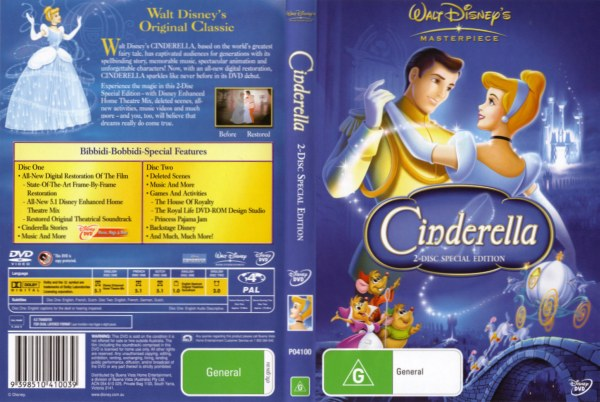 Cinderella platinum edition trailer youtube.