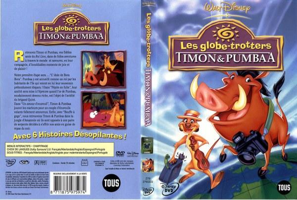 Les Globe-Trotters Timon & Pumbaa - 8711875975974 - Disney DVD Database