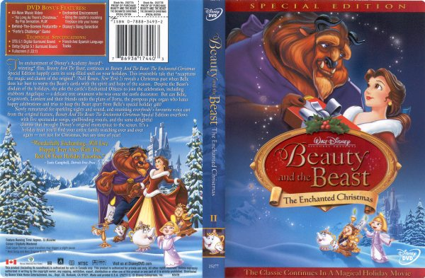 Beauty And The Beast: The Enchanted Christmas - 786936174403 ...