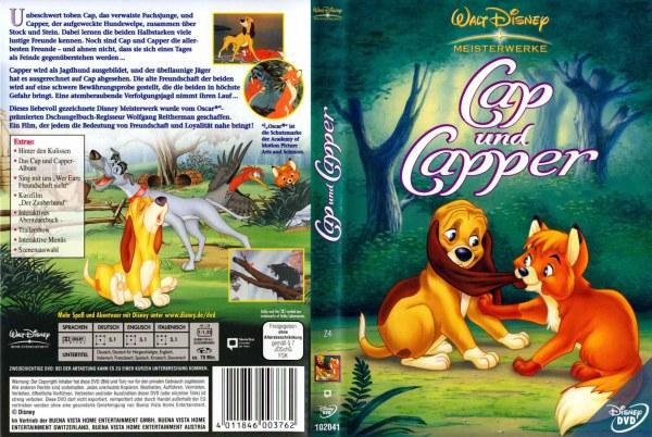 cap und capper 1 auflage 4011846003762 disney dvd