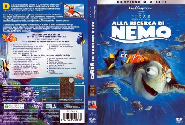 alla ricerca di nemo 8007038001568 disney dvd database