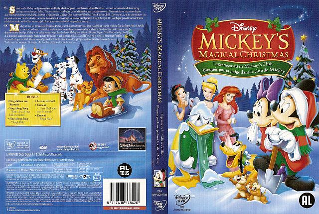 dvd info - Mickey Magical Christmas