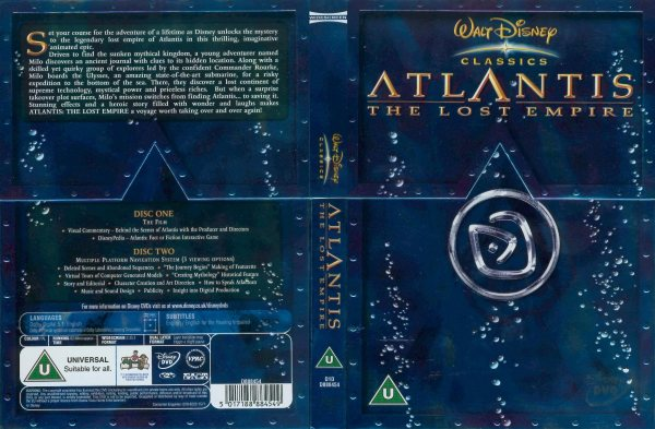Atlantis: The Lost Empire - 2 Disc Collector