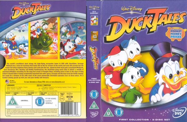 Ducktales First Collection 8717418116798 Disney Dvd