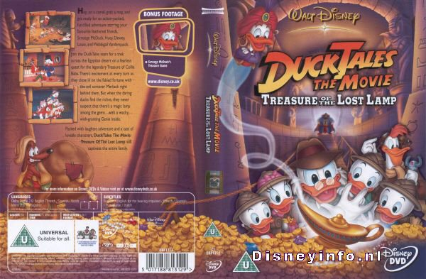 DuckTales: The Movie - Treasure Of The Lost Lamp - 5017188813129 ...