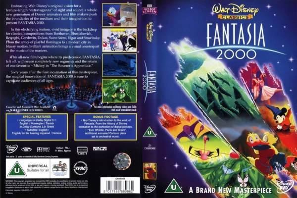 fantasia walt disney dvd