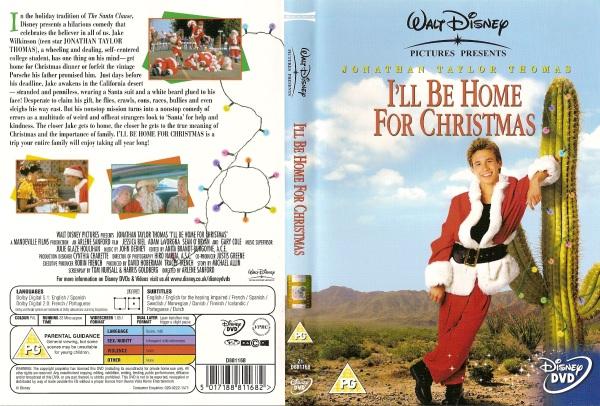 dvd info - I Will Be Home For Christmas