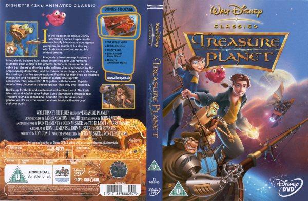 Sorry, Disney treasure planet dvd will