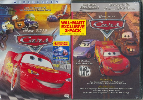 Cars: Wal*Mart Exclusive 2-Pack / Cars