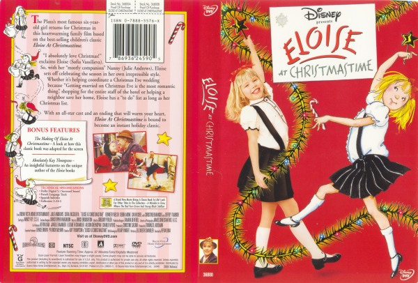 Eloise At Christmastime - 786936245905 - Disney DVD Database
