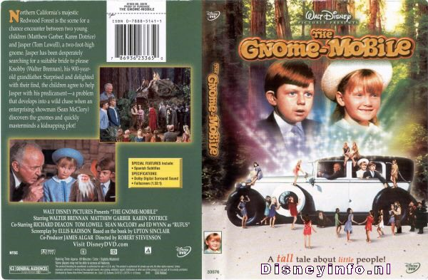 The Gnome Mobile 786936233650 Disney Dvd Database