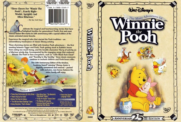 The Many Adventures Of Winnie The Pooh 786936126433