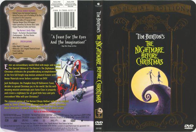 Tim Burton S The Nightmare Before Christmas 717951009395