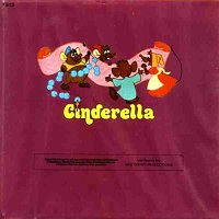 Back cover: Cinderella