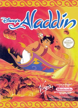 Front cover: Aladdin