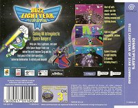 Back cover: Buzz Lightyear Of Star Command