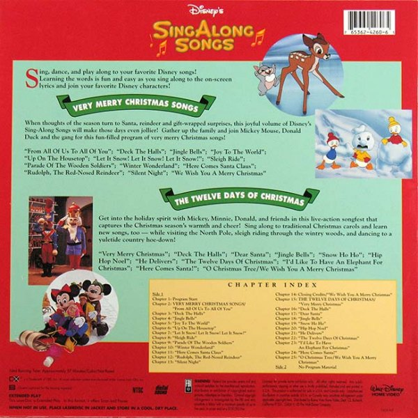 Sing Along Songs: Very Merry Christmas Songs / The Twelve Days Of ...