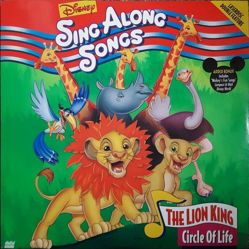 Disney sing along songs the lion king circle of life