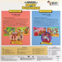 Back cover: Double Feature: The Adventures Of Rocky And Bullwinkle - Banana Formula / The Weather Lady / Double Feature: The Adventures Of Rocky And Bullwinkle - Banana Formula / The Weather Lady