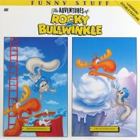 Front cover: Double Feature: The Adventures Of Rocky And Bullwinkle - Banana Formula / The Weather Lady / Double Feature: The Adventures Of Rocky And Bullwinkle - Banana Formula / The Weather Lady