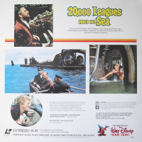 Back cover: 20,000 Leagues Under The Sea / 20,000 Leagues Under The Sea