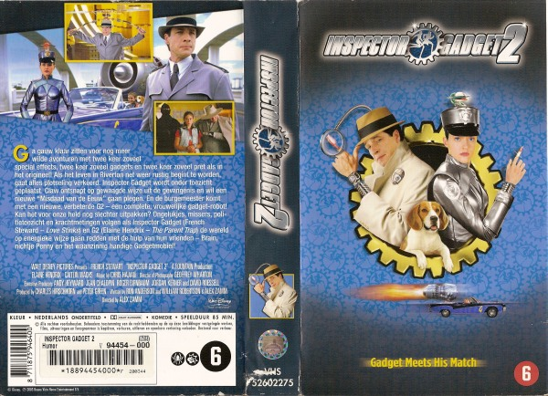 elaine hendrix inspector gadget. Inspector Gadget 2 / Inspector