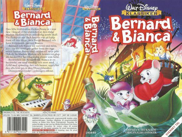 Bernard och Bianca / The Rescuers