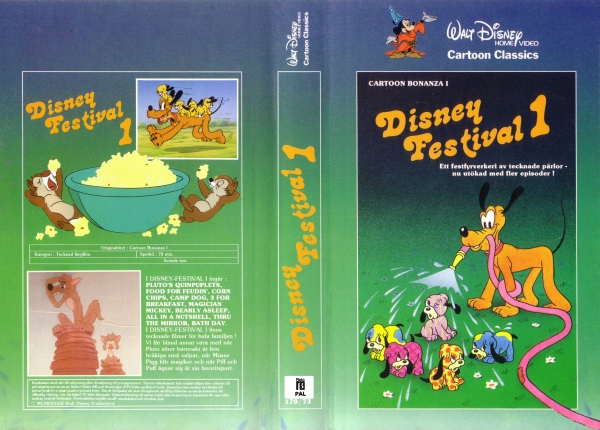 Disney Festival 1 / Cartoon Bonanza 1