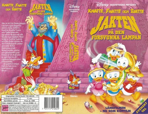 Knatte, Fnatte & Tjatte: Jakten på den försvunna lampan / Ducktales The Movie: Treasure of the Lost Lamp