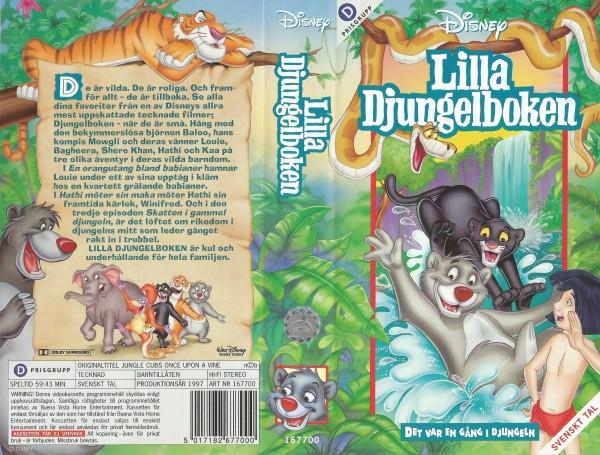 Lilla Djungelboken: Det var en gång i djungeln / Jungle Cubs One Upon A Vine