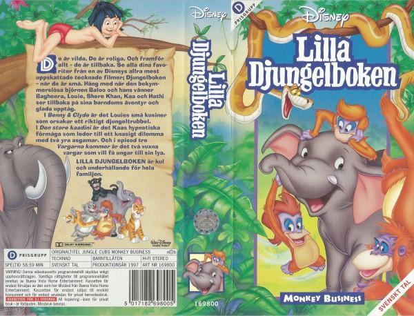 Lilla Djungelboken: Monkey Business / Jungle Cubs Moneky Business
