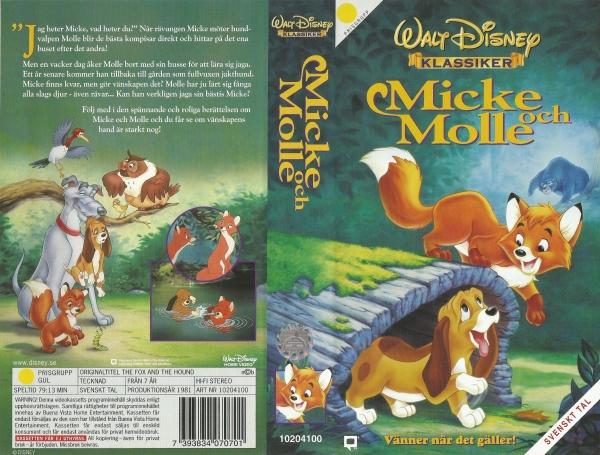 Micke och Molle - vänner när det gäller / The Fox And The Hound