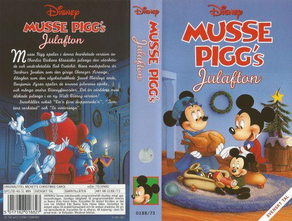 Musse Piggs julafton / Mickey