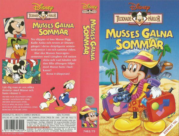 Musses galna sommar / Mickeys Summer Madness