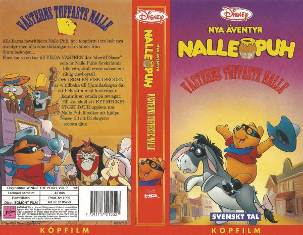 Nalle Puh: Västerns tuffaste Nalle / Winnie the Pooh, Vol 7