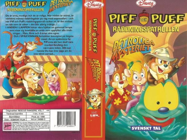 Piff och Puff - Räddningspatrullen: Det roliga mysteriet / Chip