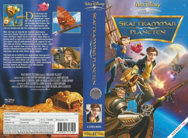 Skattkammarplaneten / Treasure Planet