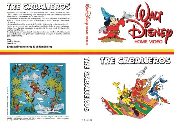 Tre Caballeros / The Three Caballeros