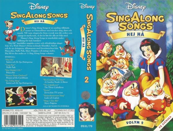 Sing Along Songs, Volum 2: Hej Hå / Sing Along Songs: Heigh-Ho