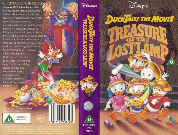 DuckTales: The Movie - Treasure Of The Lost Lamp - D210822 ...
