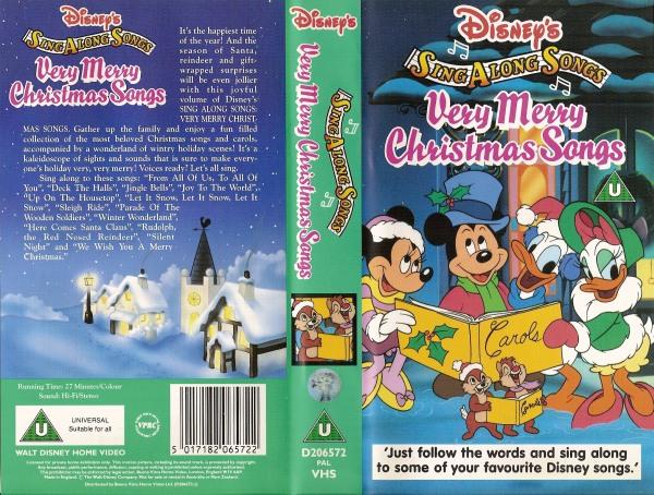 Sing Along Songs - Very Merry Christmas Songs - D206572 - Disney ...