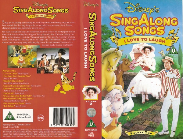 Sing along songs 02 i love to laugh sing along songs 02 i love